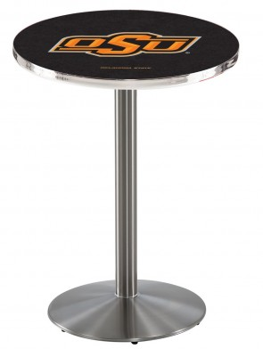Oklahoma State SS L214 Logo Pub Table