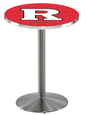 Rutgers SS L214 Logo Pub Table