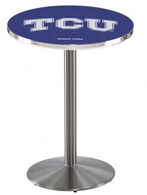Texas Christian SS L214 Logo Pub Table