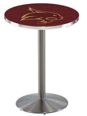 Texas State SS L214 Logo Pub Table