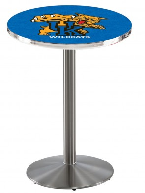 Kentucky SS L214 Wildcat Logo Pub Table