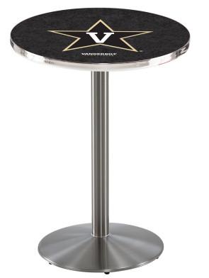 Vanderbilt SS L214 Logo Pub Table
