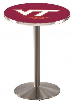 Virginia Tech SS L214 Logo Pub Table