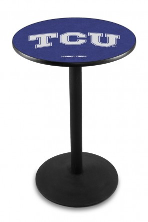 Texas Christian L214 Logo Pub Table