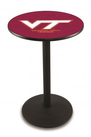 Virginia Tech L214 Logo Pub Table