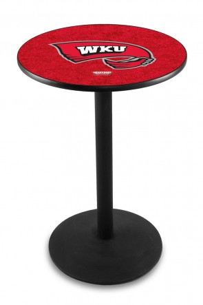 Western Kentucky L214 Logo Pub Table