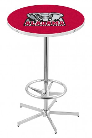 Alabama L216 Elephant Logo Pub Table