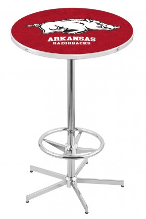 Arkansas L216 Logo Pub Table