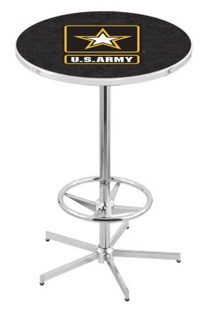 US Army L216 Logo Pub Table
