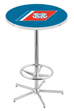 US Coast Guard L216 Logo Pub Table