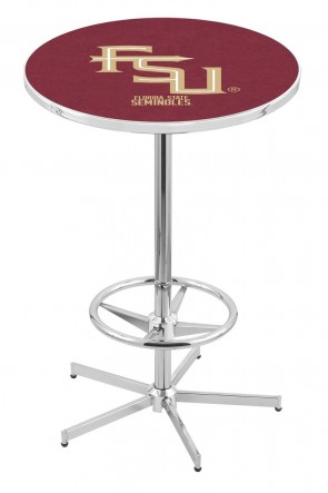 Florida State L216 FSU Logo Pub Table