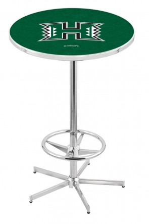 Hawaii L216 Logo Pub Table