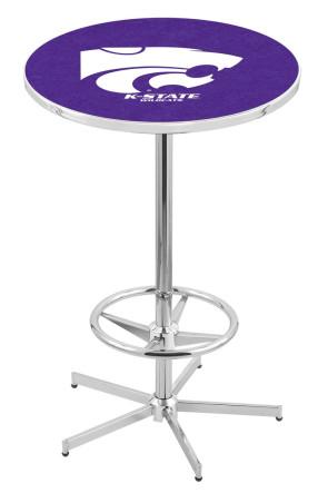 Kansas State L216 Logo Pub Table