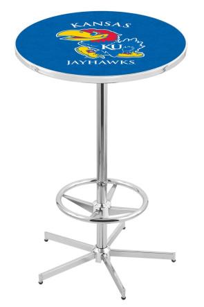 Kansas L216 Logo Pub Table