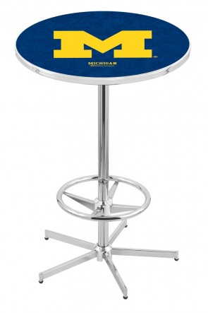 Michigan L216 Logo Pub Table