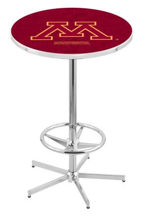 Minnesota L216 Logo Pub Table