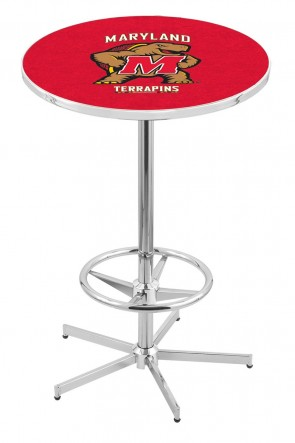 Maryland L216 Logo Pub Table