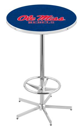 Mississippi L216 Logo Pub Table