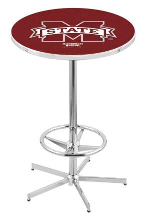 Mississippi State L216 Logo Pub Table