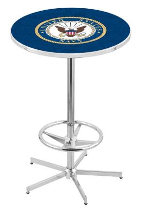 US Navy L216 Logo Pub Table