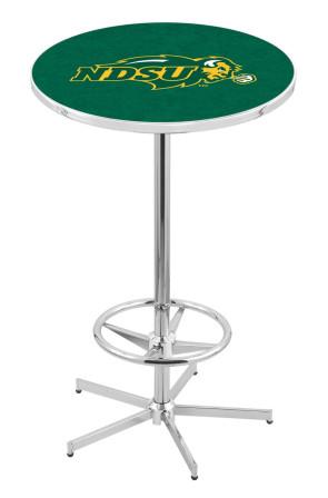 North Dakota State L216 Green Logo Pub Table