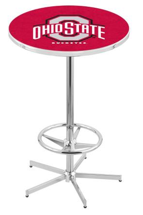 Ohio State L216 Logo Pub Table