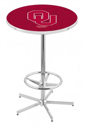 Oklahoma L216 Logo Pub Table