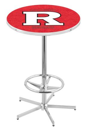 Rutgers L216 Logo Pub Table