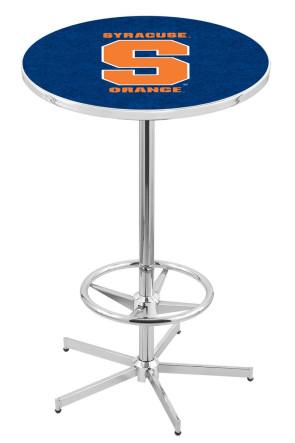 Syracuse L216 Logo Pub Table