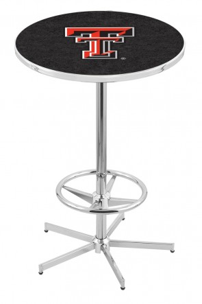 Texas Tech L216 Logo Pub Table