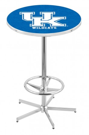 Kentucky L216 Uk Logo Pub Table
