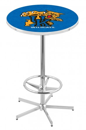 Kentucky L216 Wildcat Logo Pub Table