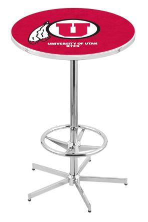 Utah L216 Logo Pub Table