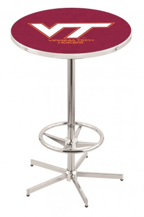 Virginia Tech L216 Logo Pub Table