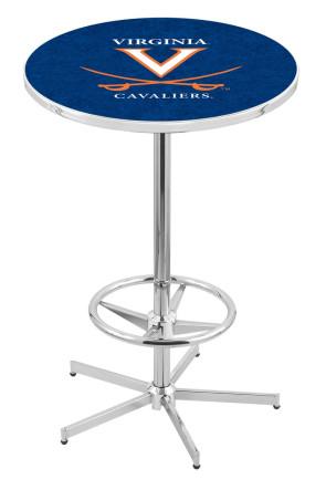 Virginia L216 Logo Pub Table