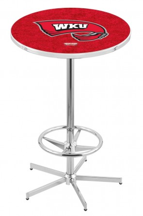 Western Kentucky L216 Logo Pub Table
