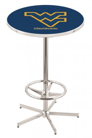 West Virginia L216 Logo Pub Table