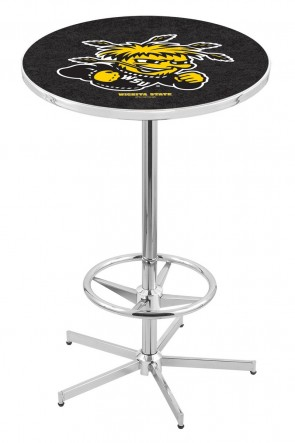 Wichita State L216 Logo Pub Table
