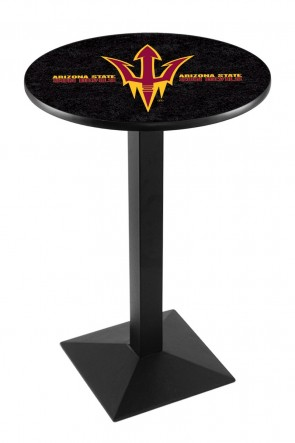 Arizona State L217 Pitchfork Logo Pub Table