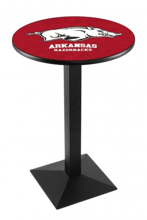Arkansas L217 Logo Pub Table