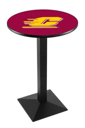 Central Michigan L217 Logo Pub Table