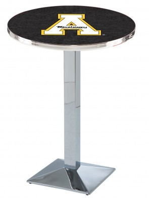 Appalachian State Chrome L217 Logo Pub Table