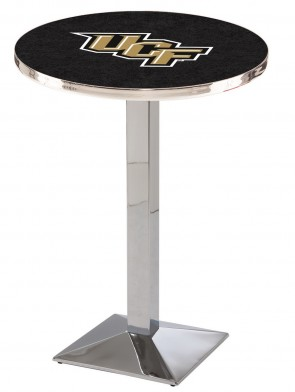 Central Florida Chrome L217 Logo Pub Table