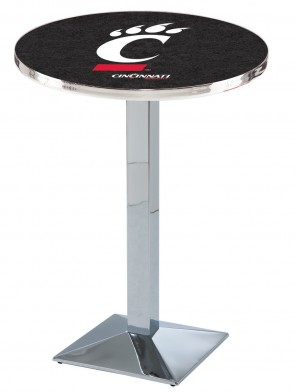 Cincinnati Chrome L217 Logo Pub Table