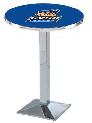 Grand Valley State Chrome L217 Logo Pub Table