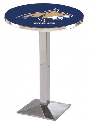 Montana State Chrome L217 Logo Pub Table