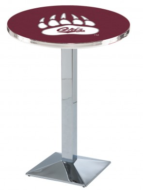 Montana Chrome L217 Logo Pub Table