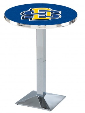 South Dakota State Chrome L217 Logo Pub Table
