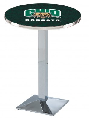 Ohio Chrome L217 Logo Pub Table