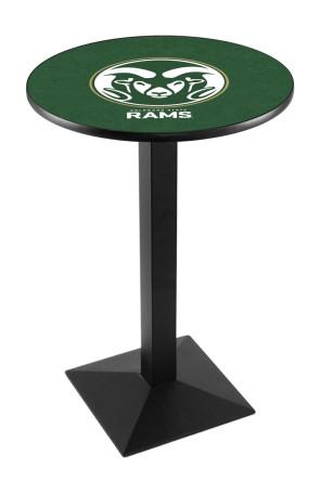 Colorado State L217 Logo Pub Table